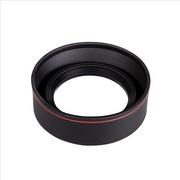 レンズの焦点距離に合わせて3段階伸縮可能な汎用ラバーフード「マルチレンズフード KMLHシリーズ」発売