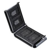 耐衝撃・帯電防止パッド採用、SD・microSDカードを収納できるハードケースを発売します