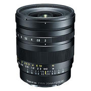ソニーEマウント用、フルサイズ対応の大口径広角単焦点レンズ「FíRIN 20mm F2 FE MF」を発表