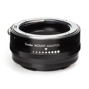 ニコンFマウントレンズをミラーレスカメラへ装着可能にする、絞り調整機能付きのマウントアダプターを発売