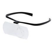 メガネの上からかけられる拡大鏡、「両手が使えるメガネ拡大鏡Ⅱ 1.6倍」発売のお知らせ