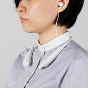 スタイリッシュなデザインの集音器「首かけ式集音器 KHB-102」を発売いたします