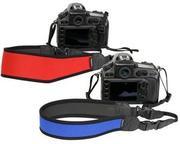 首や肩の負担を軽減するカメラストラップ「〈MAMORU〉ネオプレーンストラップ」発売