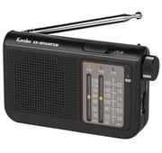 AM、FM、短波放送が聴ける携帯ラジオ「AM/FM/短波ラジオ KR-009AWFSW」発売