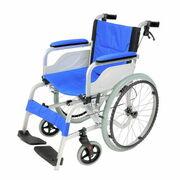 軽量アルミフレームの車椅子「自走兼介助式車椅子 KW-01AL」発売