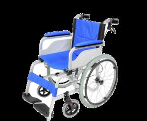 自走兼介助式車椅子 KW-01ALの製品画像
