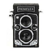 写真も動画も音声も撮れるクラシックな二眼レフの形をしたトイデジタルカメラ「トイカメラ PIENIFLEX (ピエニフレックス)」