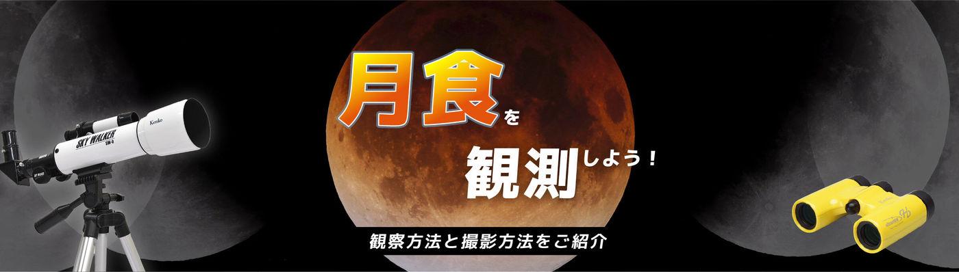 月食を観察しよう!