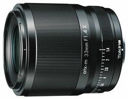 atx-m 33mm F1.4 Xの製品画像