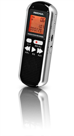 ラジオ付きボイスレコーダー REGXIA ICR-021製品画像