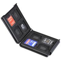 SDメモリーカードケースAS 8枚収納の収納例