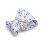 包 ラップクッション M 花柄 ブルー画像01