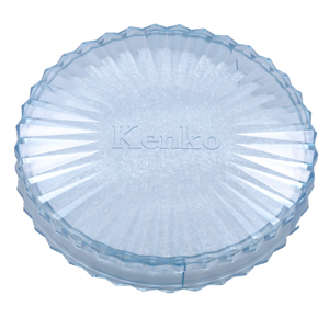 フィルター丸型プラスチックケース ブルー