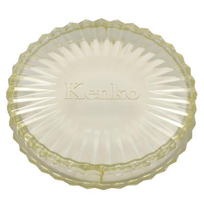 フィルター丸型プラスチックケース イエロー画像