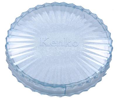 フィルター丸型プラスチックケース ブルー画像