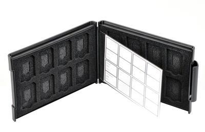 SDメモリーカードケースAS 16枚収納画像