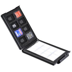 SDメモリーカードケースAS 16枚収納の収納例