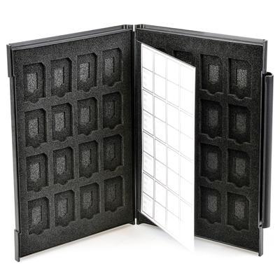 SDメモリーカードケースAS 32枚収納画像