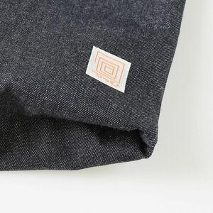 包(つつむ) 巾着ポーチ プレミアムデニム画像01