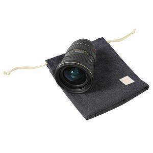 包(つつむ) 巾着ポーチ プレミアムデニムの収納例