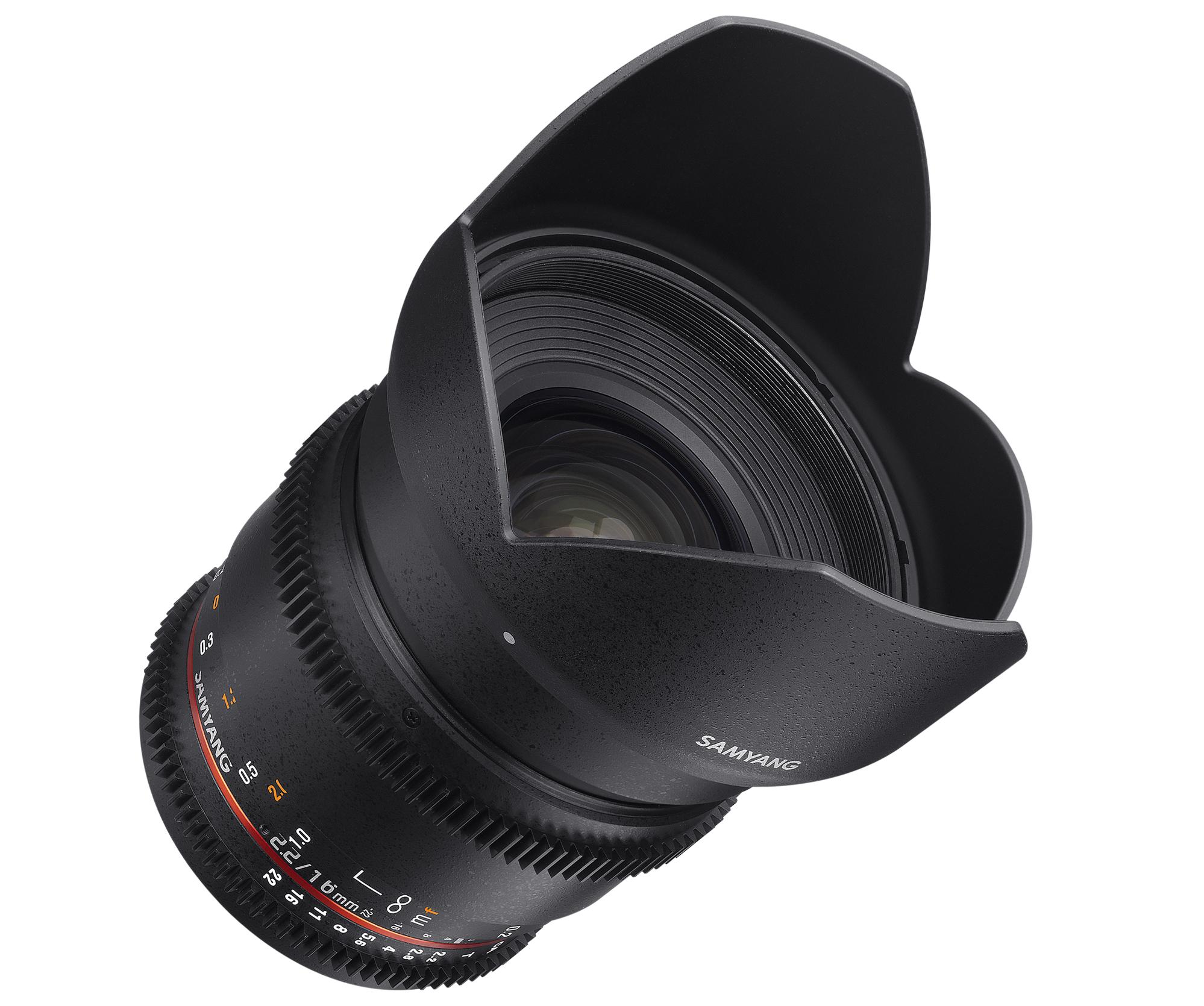 16mm T2.2 VDSLR  ED AS UMC CS II画像02