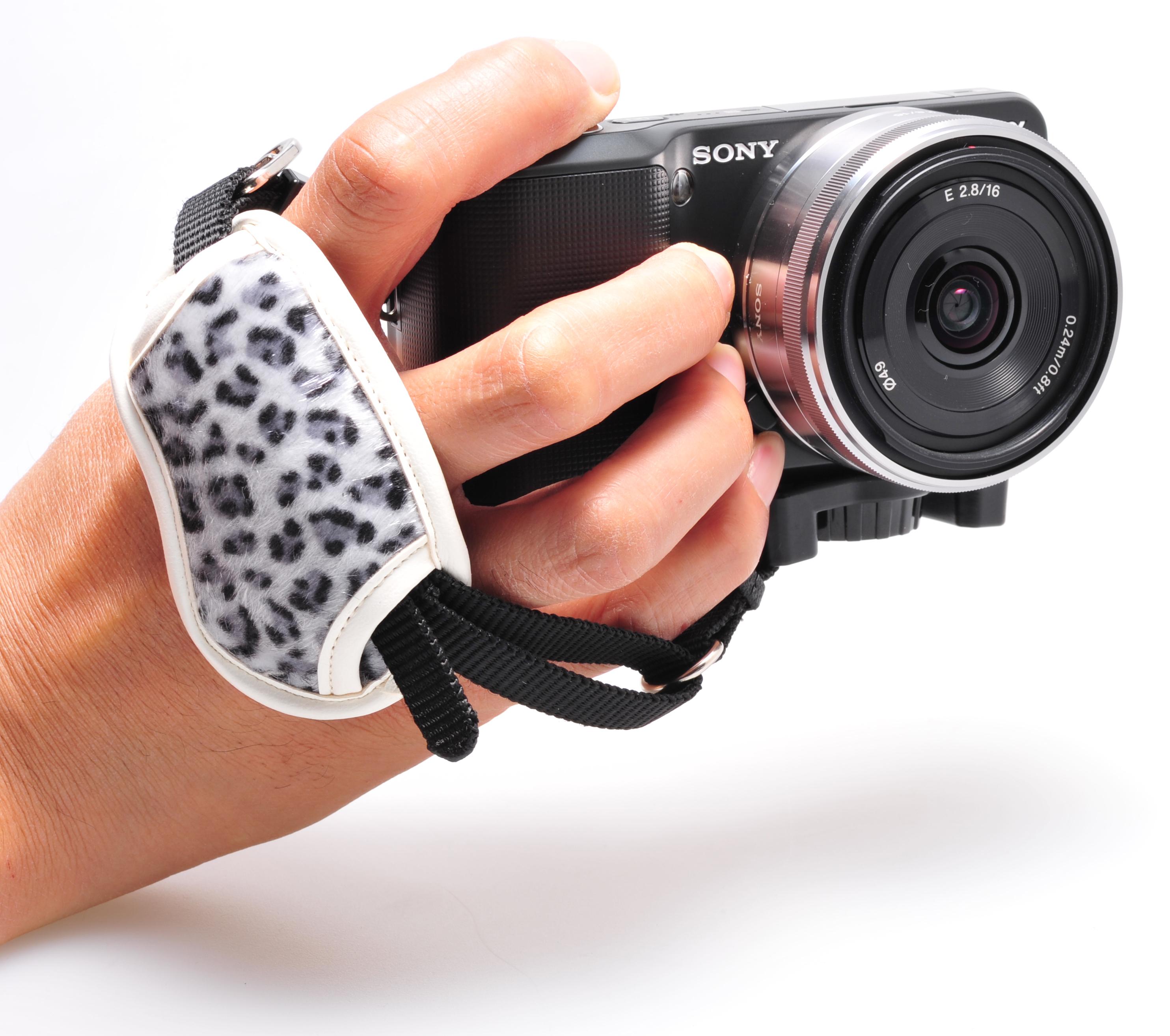 握 カメラグリップ 白蛇画像01