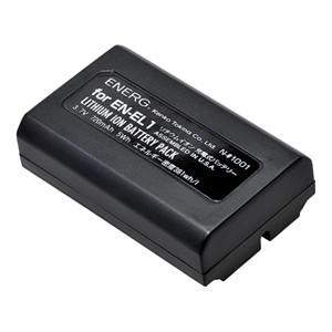 ENERGデジタルカメラ用バッテリー ニコンEN-EL1対応 N-#1001