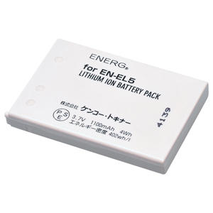 ENERGデジタルカメラ用バッテリー ニコンEN-EL5対応 N-#1022