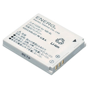 ENERGデジタルカメラ用バッテリー キヤノンNB-4L対応 C-#1028