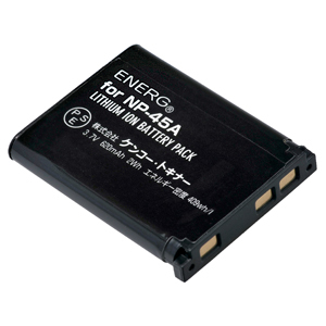 ENERGデジタルカメラ用バッテリー 富士フイルムNP-45A対応 F-#1061