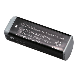 ENERGデジタルカメラ用バッテリー キヤノンNB-9L対応 C-#1066