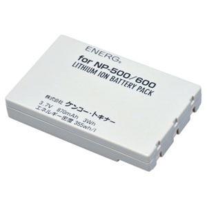 ENERGデジタルカメラ用バッテリー コニカミノルタNP-500/600対応 M-#1073