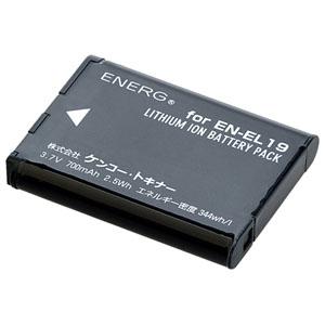 ENERGデジタルカメラ用バッテリー ニコンEN-EL19対応 N-#1083
