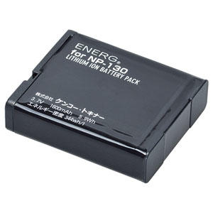 ENERGデジタルカメラ用バッテリー カシオNP-130対応 K-#1084