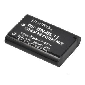 ENERGデジタルカメラ用バッテリー ニコンEN-EL11対応 N-#1091
