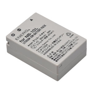 ENERGデジタルカメラ用バッテリー キヤノンNB-10L対応 C-#1094