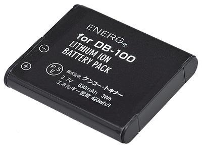 ENERGデジタルカメラ用バッテリー リコーDB-100対応 R-#1053画像