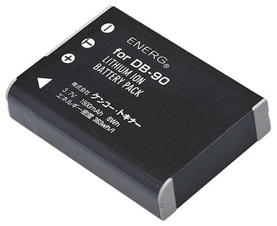 ENERGデジタルカメラ用バッテリー リコーDB-90対応 R-#1054画像