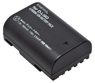 ENERGデジタルカメラ用バッテリー ペンタックスD-Li90対応 PT-#1056画像