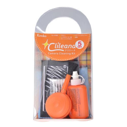 クリリーナ カメラクリーニングキット 5点セット オレンジ 画像1