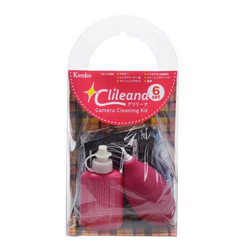 クリリーナ カメラクリーニングキット 6点セット ピンク 画像1