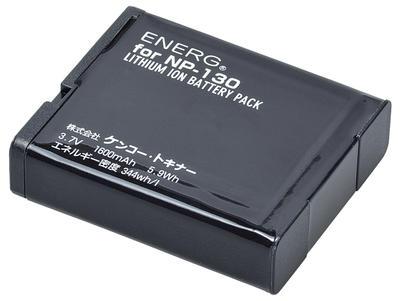 ENERGデジタルカメラ用バッテリー カシオNP-130対応 K-#1084画像