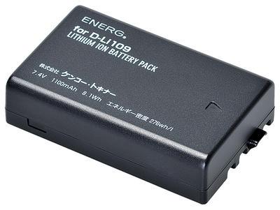ENERGデジタルカメラ用バッテリー ペンタックスD-Li109対応 PT-#1088画像