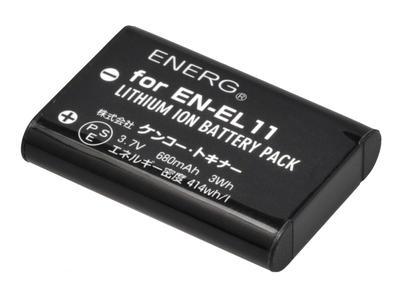 ENERGデジタルカメラ用バッテリー ニコンEN-EL11対応 N-#1091画像
