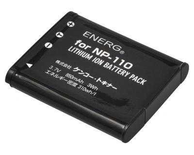 ENERGデジタルカメラ用バッテリー カシオNP-110対応 K-#1092画像