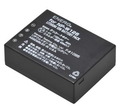 ENERGデジタルカメラ用バッテリー 富士フイルムNP-W126対応 F-#1095画像