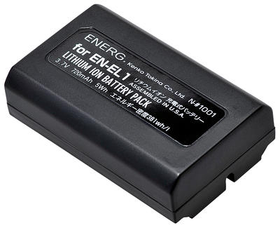 ENERGデジタルカメラ用バッテリー ニコンEN-EL1対応 N-#1001画像