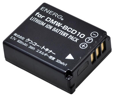 ENERGデジタルカメラ用バッテリー パナソニックDMW-BCD10対応 P-#1040画像