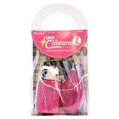 NEWクリリーナ カメラクリーニングキット 7点セット ピンク画像