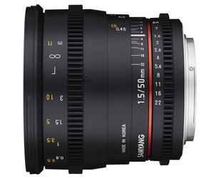 50mm T1.5 VDSLR AS UMC画像01